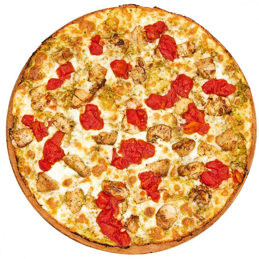 PIZZA CHICKEN E PESTO